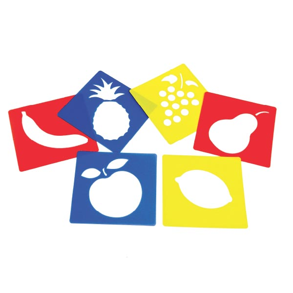 Meyveler Baskı Şablonu