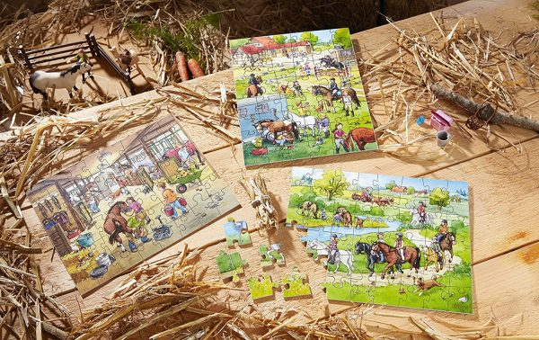 Haba Hogwash Farm Puzzle