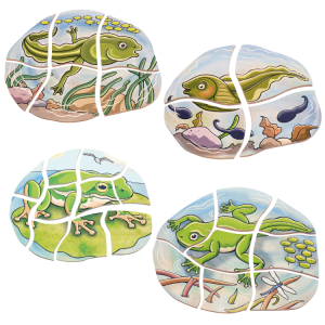 Oluşum Puzzle - Kurbağa