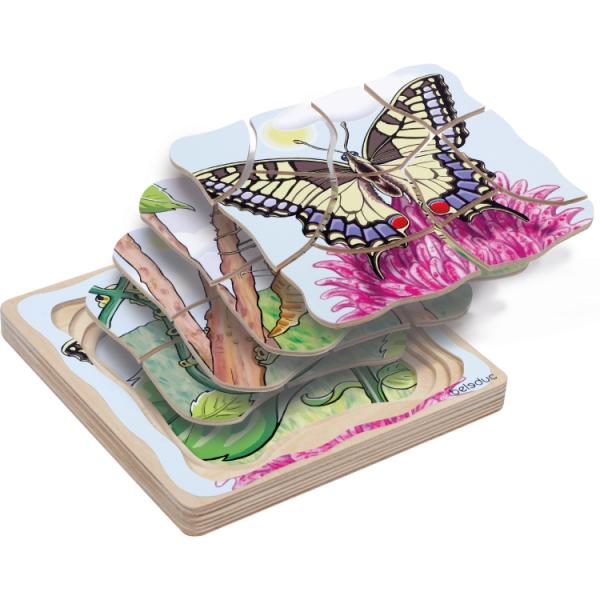 Oluşum Puzzle - Kelebek