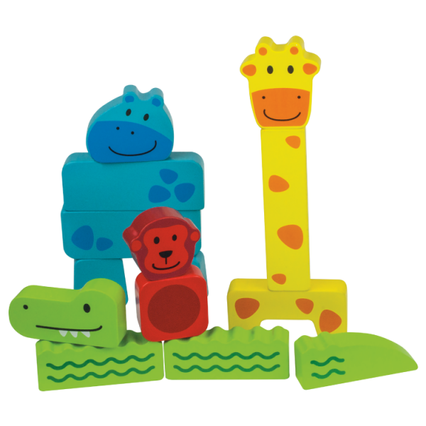 Mini Hayvanlar Ahşap Puzzle (14 Parça)