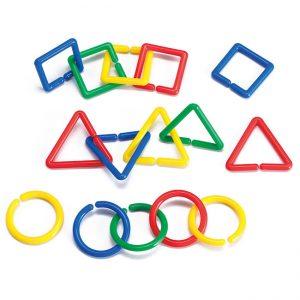 Geometrik Şekillerle Bağlantı (360 Parça)