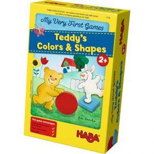 Haba Teddy's Colours And Shapes - Ayıcığın Renk ve Şekilleri Oyunu