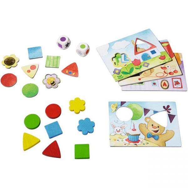 Haba Teddy's Colours And Shapes - Ayıcığın Renk ve Şekilleri Oyunu