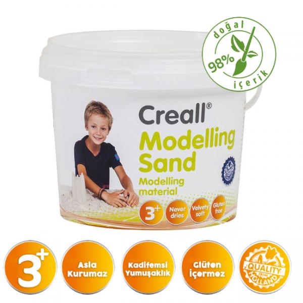 Creall Kinetik Modelleme Kumu Natural 750gr.