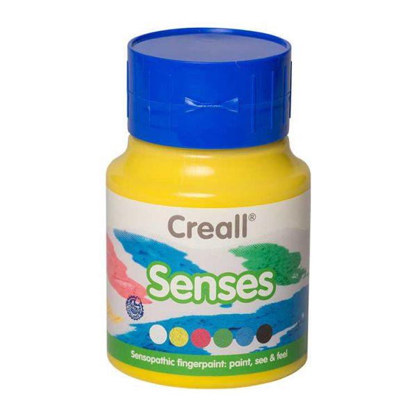 Creall Senses Dokulu Boya - Sarı