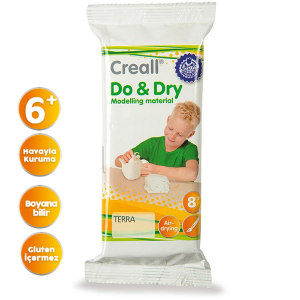 Creall Do & Dry Seramik Hamuru- Toprak 500 gr.