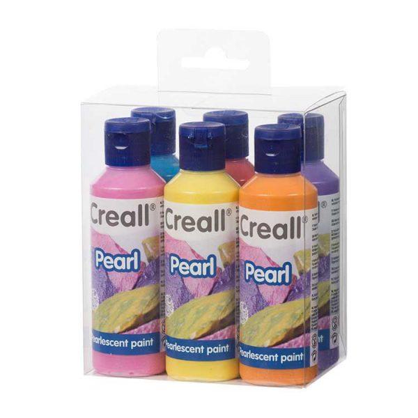 Pearl Paint Set - 6x80ml.