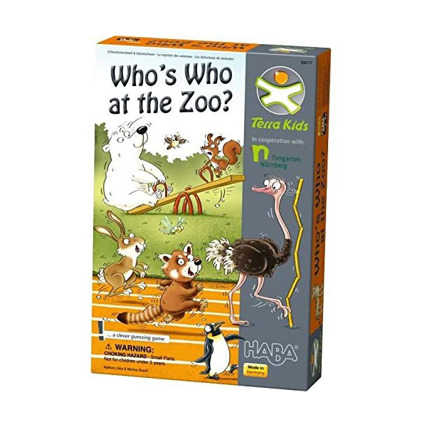Haba Who's Who at the Zoo - Bul Bakalım Hangi Hayvan Oyunu