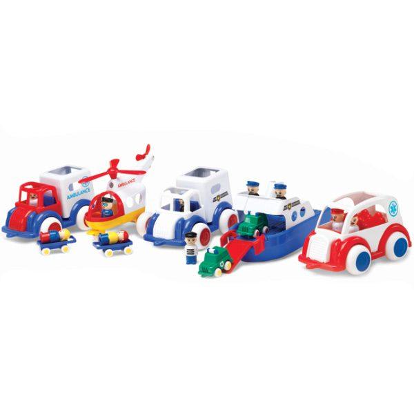 Viking Toys Acil Kurtarma Taşıtları