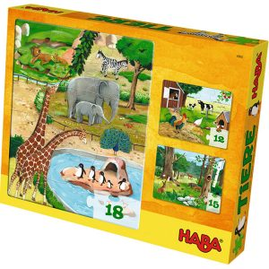 Haba Puzzles Animals