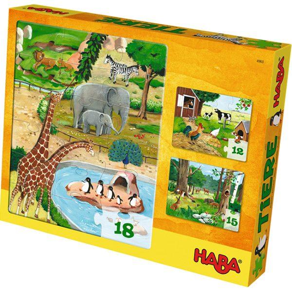 Haba Puzzles Animals