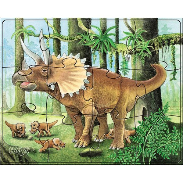 Haba Puzzles Dinosaur