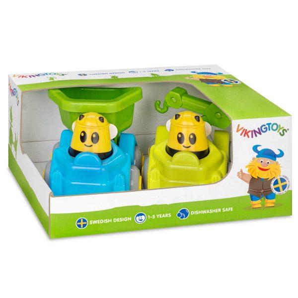 Viking Toys İkili Vız Vız Arı Mavi ve Yeşil
