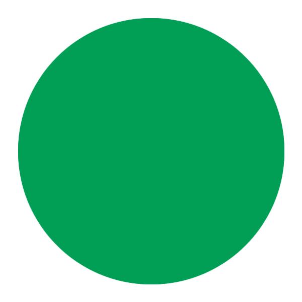 Creall Fingerpaint - Yeşil