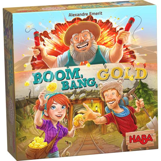 Haba Boom Bang Gold - Altına Hücum