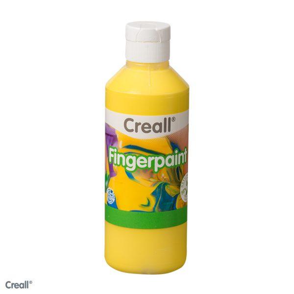 Creall Fingerpaint - Sarı 250ml.