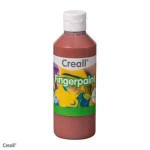 Creall Fingerpaint - Kahverengi 250ml.