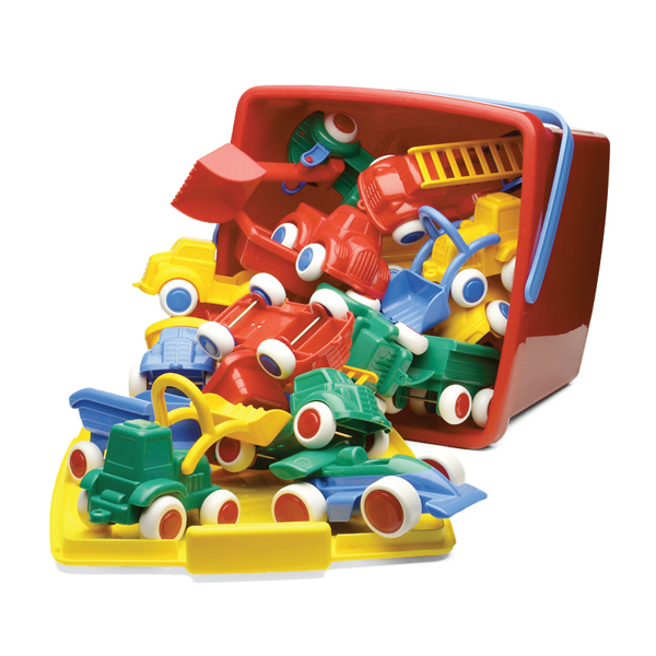 Viking Toys Maxi Bucket Set 18 Parça