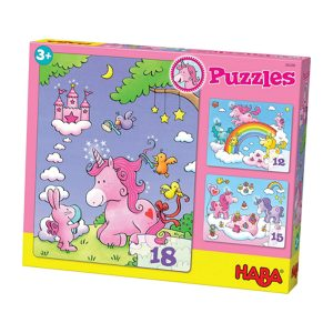 Haba Tek Boynuzlu At Puzzle