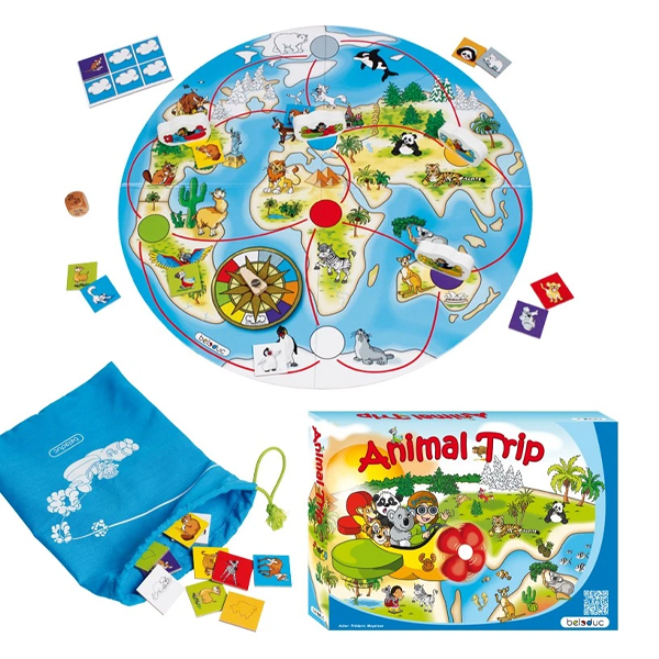 Beleduc 'One World' Animal Trip