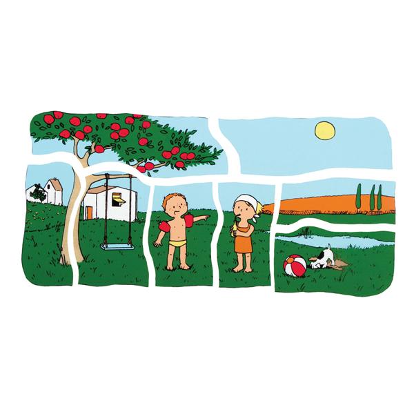 Dört Mevsim Ahşap Puzzle (32 Parça)