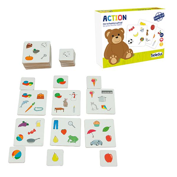 Beleduc Action / Aksiyon (Mini Oyun)