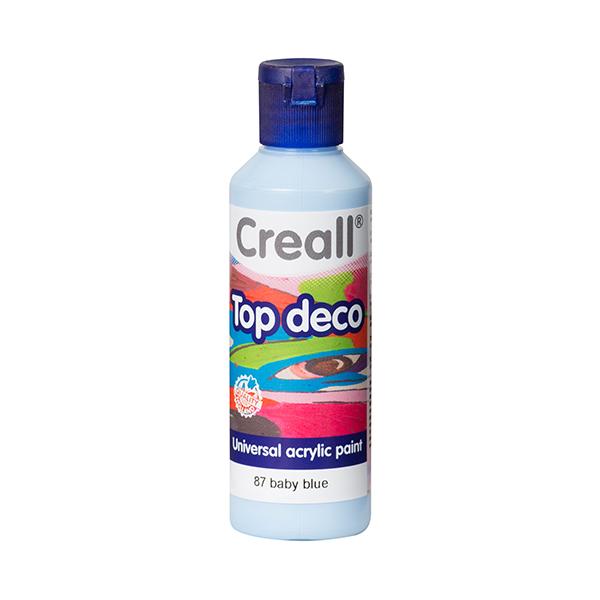 Creall Top Deco - Bebek Mavi
