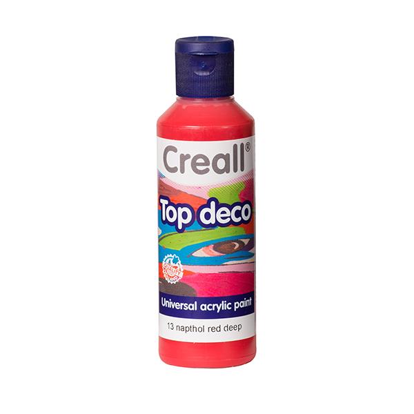 Creall Top Deco - Derin Kırmızı
