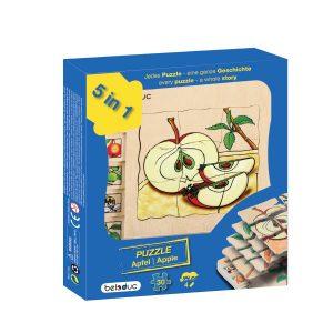 Oluşum Ahşap Puzzle - Elma (30 Parça)