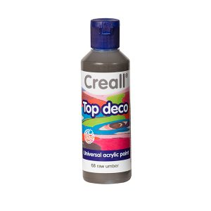Creall Top Deco - Ham Kahverengi