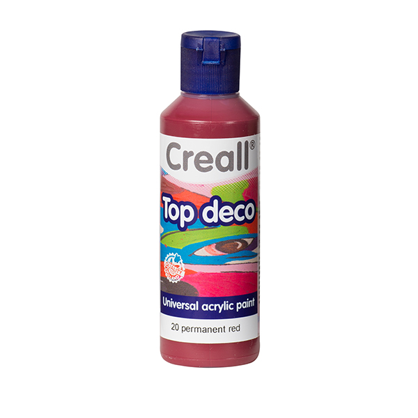 Creall Top Deco Kalıcı Kırmızı