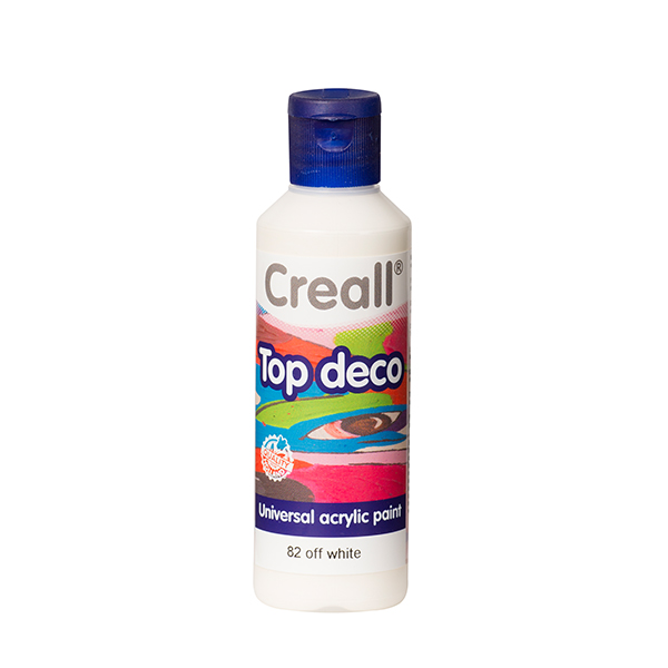 Creall Top Deco - Kirli Beyaz