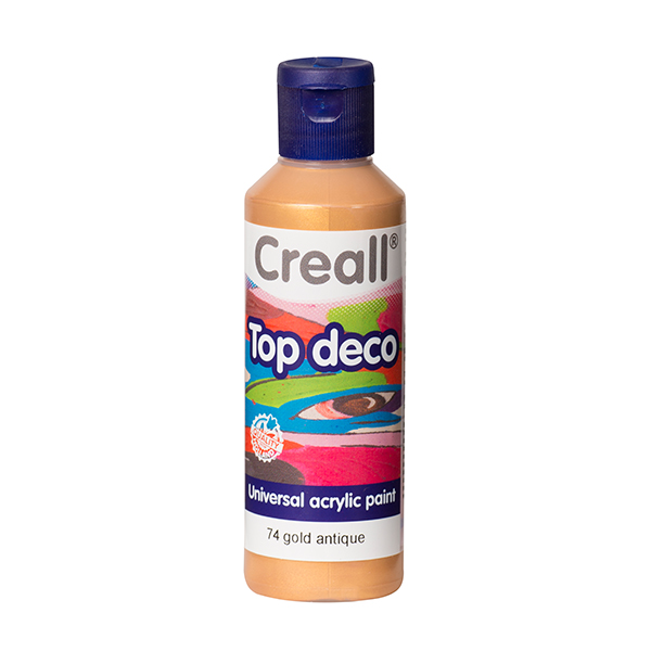 Creall Top Deco - Parlak Altın