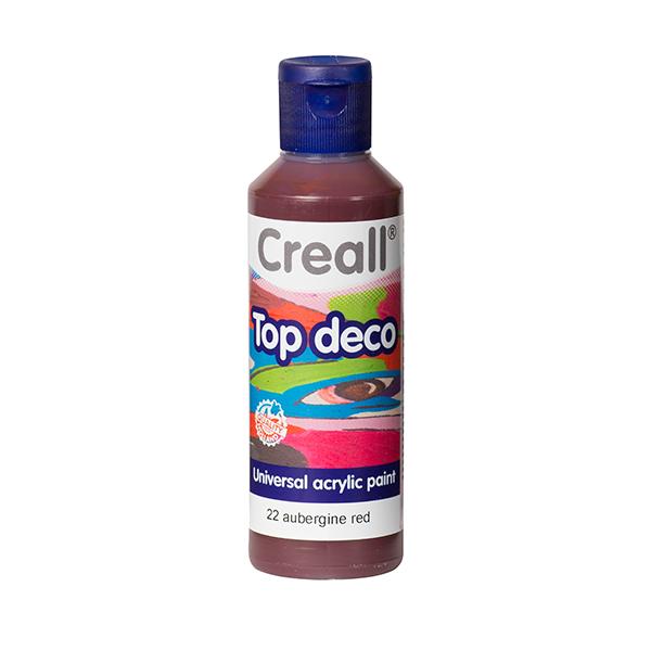 Creall Top Deco - Patlıcan Kırmızısı