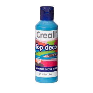 Creall Top Deco - Petrol Mavi