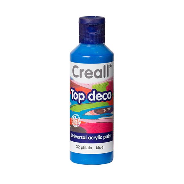 Creall Top Deco - Plato Mavi
