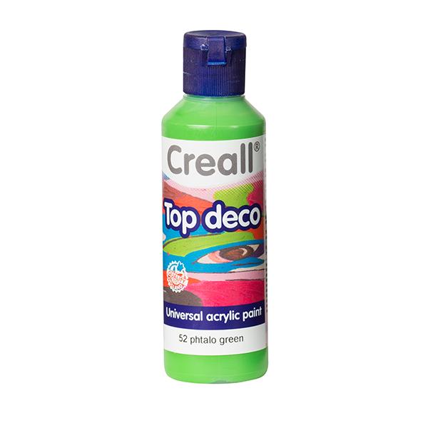 Creall Top Deco - Plato Yeşil