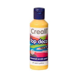 Creall Top Deco - Sıcak  Sarı