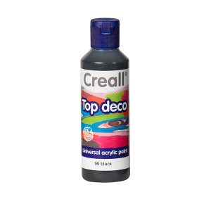 Creall Top Deco - Siyah