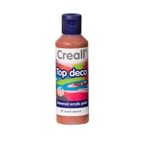 Creall Top Deco - Yanık Sienna