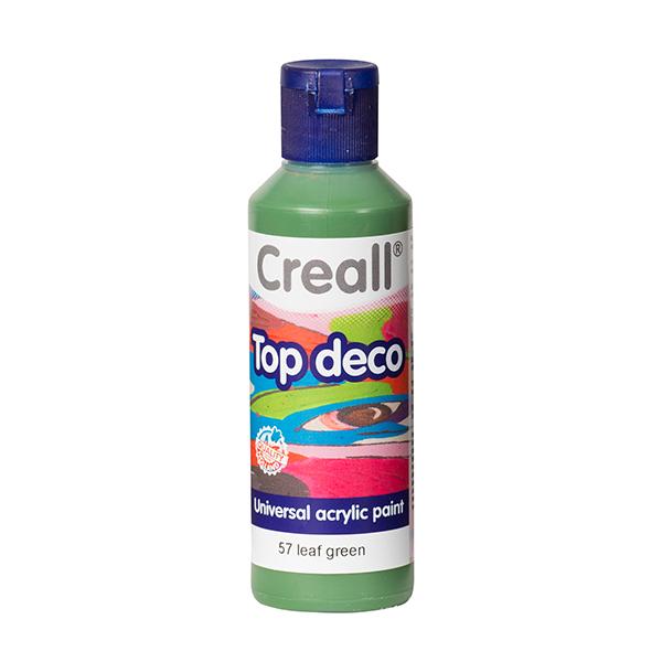 Creall Top Deco - Yaprak Yeşil