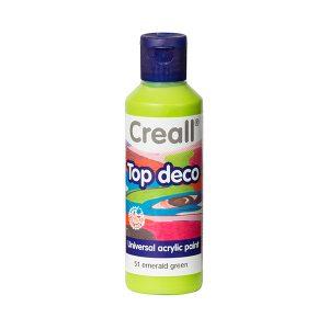 Creall Top Deco - Zümrüt Yeşil