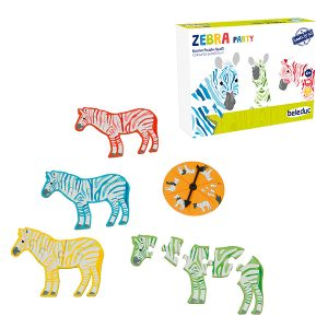 Beleduc Zebra Party / Zebra Partisi (Mini Oyun)