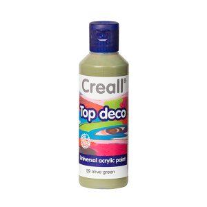 Creall Top Deco - Zeytin Yeşil