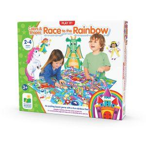 Race to the Rainbow / Renkler ve Şekillerle Yarış