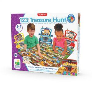 123 Treasure Hunt / Toplama Çıkarma Yarışı