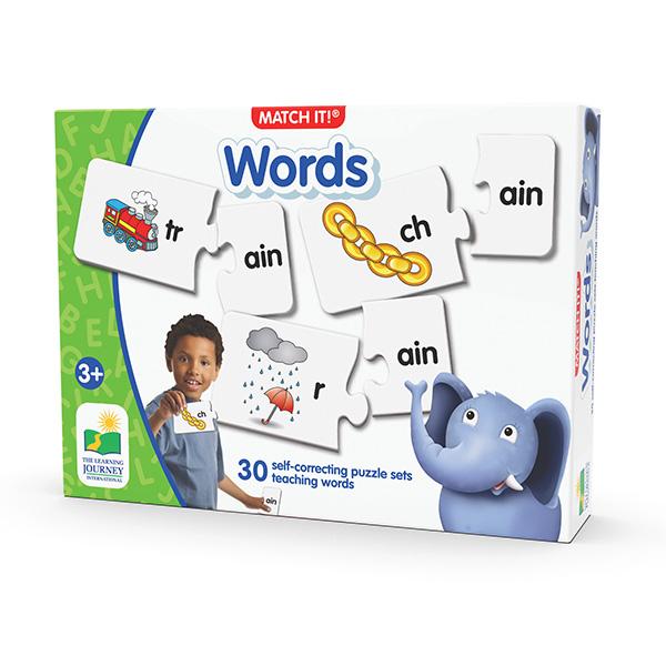 İngilizce Öğreniyorum / Heceleyerek Eşleştirme