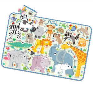 Akıllı Çocuk Serisi / Hayvanlar Puzzle 28 Parça