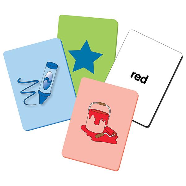 Akıllı Çocuk Serisi / Renkler Ve Şekiller / Hafıza Kartları (50 Parça)